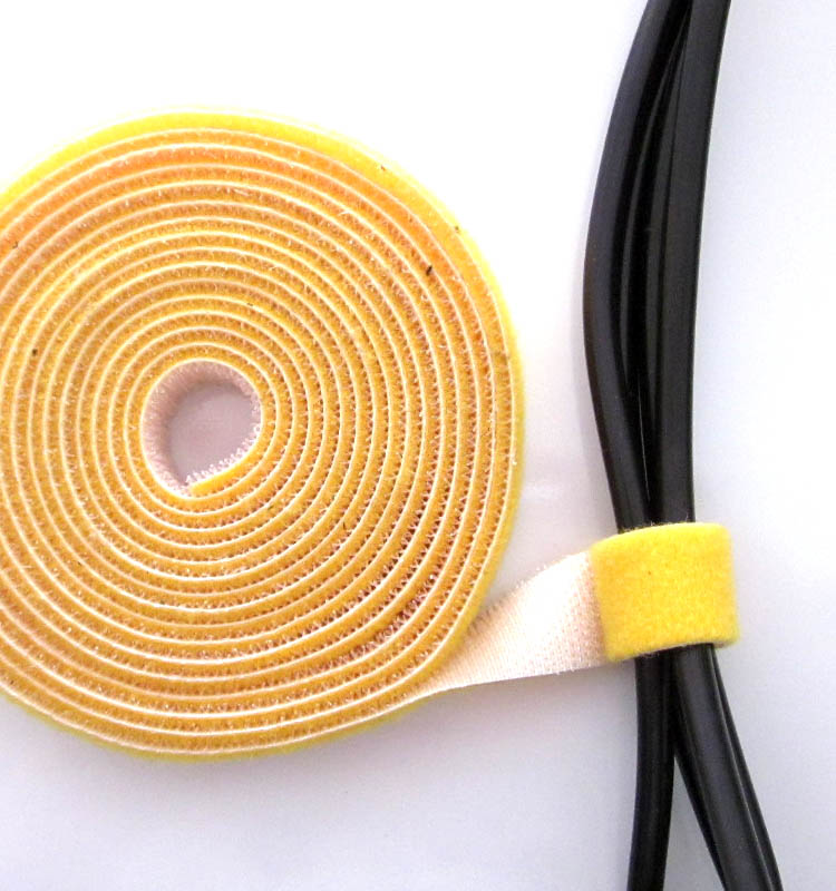 Back to back velcro cable ties tie line with back to back velcro cable management tie line with the beam line with 1CM cm wide A price of rice
