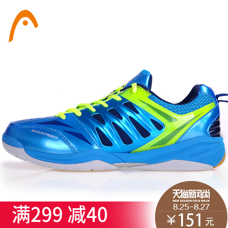 Badminton shoes authentic shoes for men and women head/hyde summer breathable cushioning sports shoes slip resistant shoes training shoes