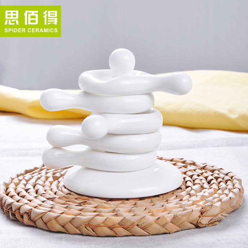 Bai was thinking of creative ceramic dual prop chopsticks chopsticks chopsticks holder ceramic japanese chopsticks chopsticks holder care chopsticks chopsticks chopsticks pillow care chopsticks spoon