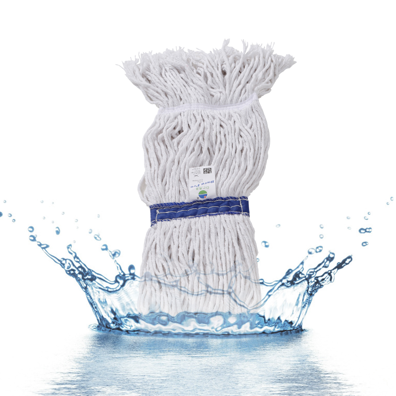 Baiyun standard wax tractors cotton mop cloth to replace the head removable strong absorbent mop head mop head home