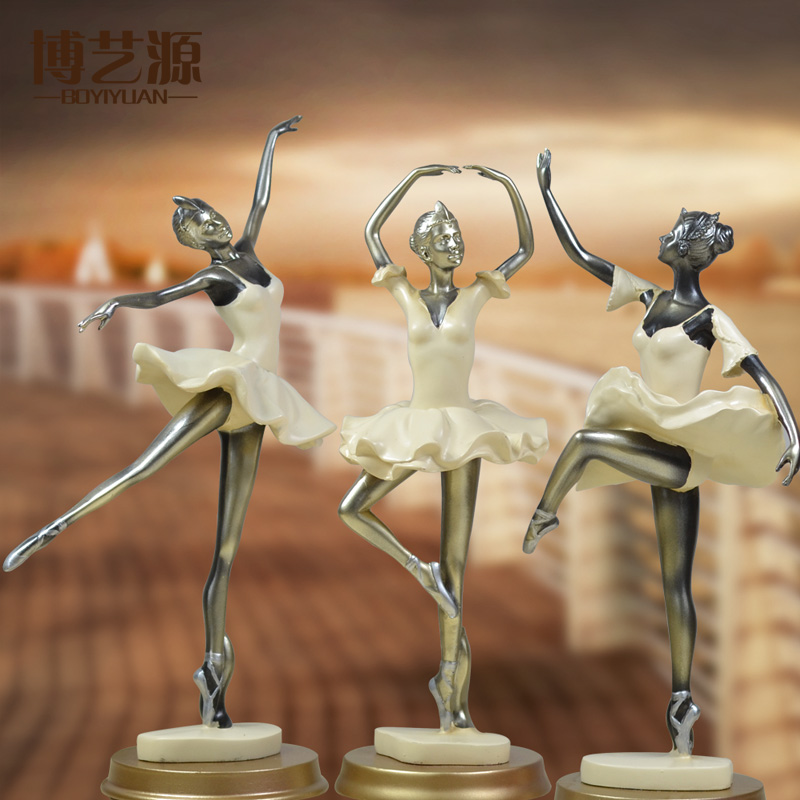 Ballet soft home decorations stylish living room furniture european tv cabinet ornaments crafts furnishings creative gifts
