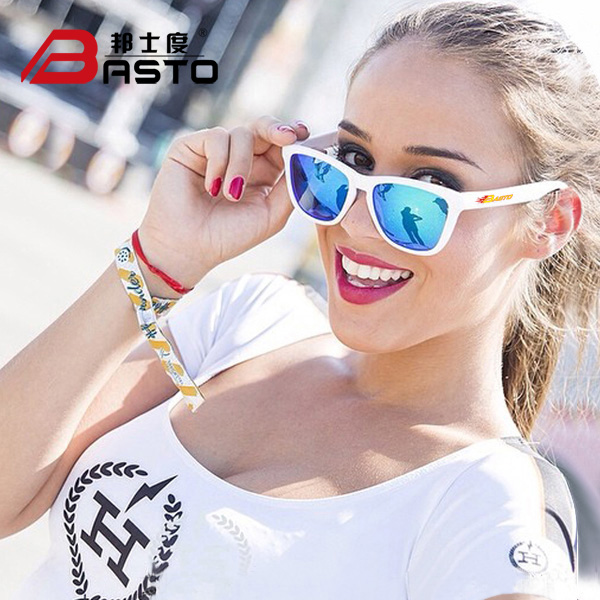 d432dd27807 Get Quotations · Bangshi degrees colorful film anti-uv polarized driving sunglasses  sunglasses for men and women fashion