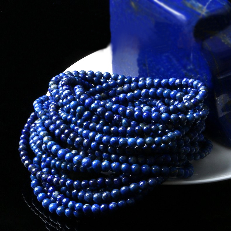 Bao crystal pro natural qualities of lapis lazuli beads bracelet three times the old customers activities porcelain models