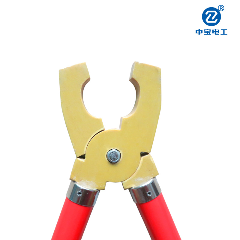 Bao low voltage electrical personal security line insulation portable ground wire grounding clamp grounding clamp clamp