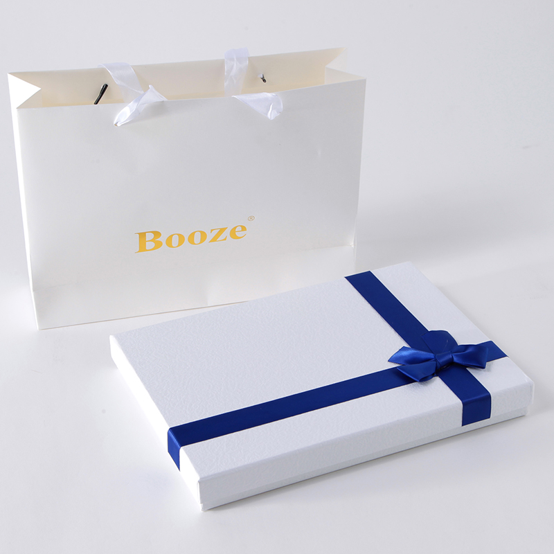 Baoze silk scarves silk scarves scarf gift box gift special gift upscale blue and white gift box