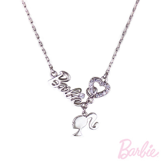 [Barbie] classic love heart necklace barbie payeasy official website direct mail