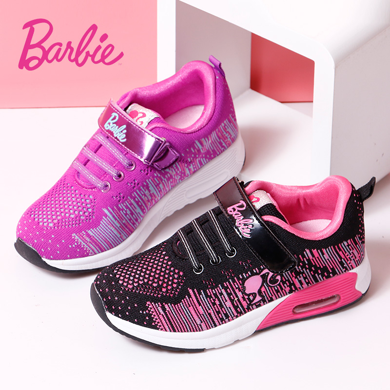 Barbie girls shoes dongkuan sports shoes 2016 counter genuine children's shoes princess girls shoes