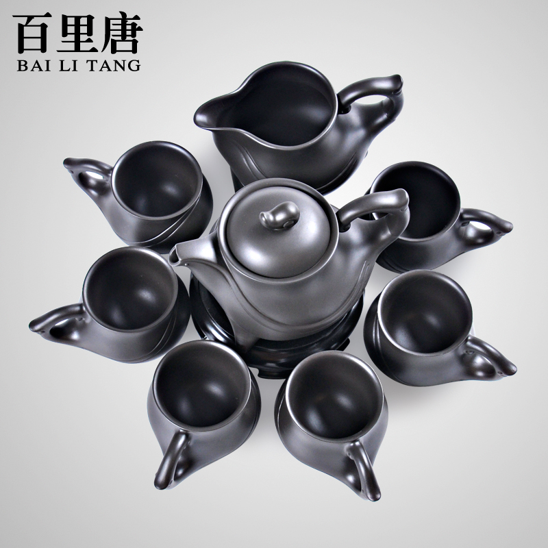Barry 8 head of tang entire kung fu tea yixing tea set a large cup teapot tea boutique gift boxes specials