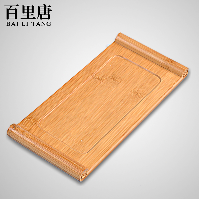 Barry tang scroll special bamboo tea tray tea tea accessories boutique kung fu tea