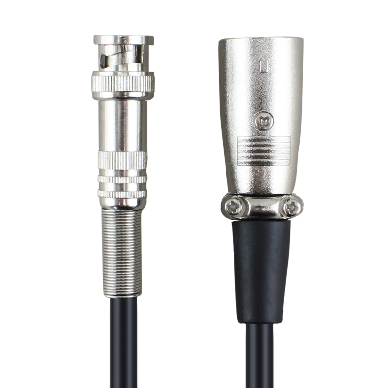 Bay bridge KQ7749 xlr male to bnc male bnc q9 turn turn xlr microphone cable audio cable audio enthusiast