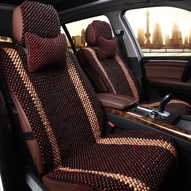 Get Quotations Beads Wooden Bead Car Seat Cover Breathable Summer