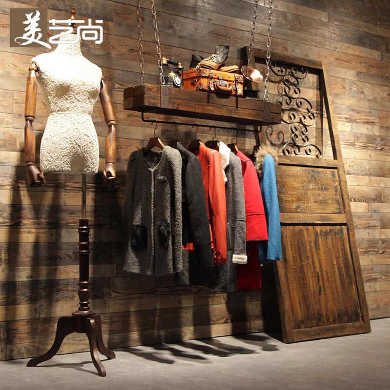 09c481240fd78 Get Quotations · Beaux arts is hanging clothes rack clothes rack clothing  store fitting clothing store window display window