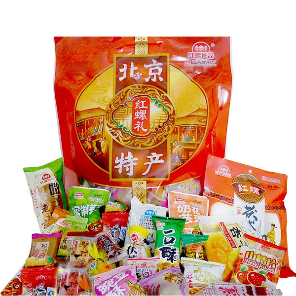 Beijing specialty food rhodospirillum traditional pastry specialty snack spree 800g