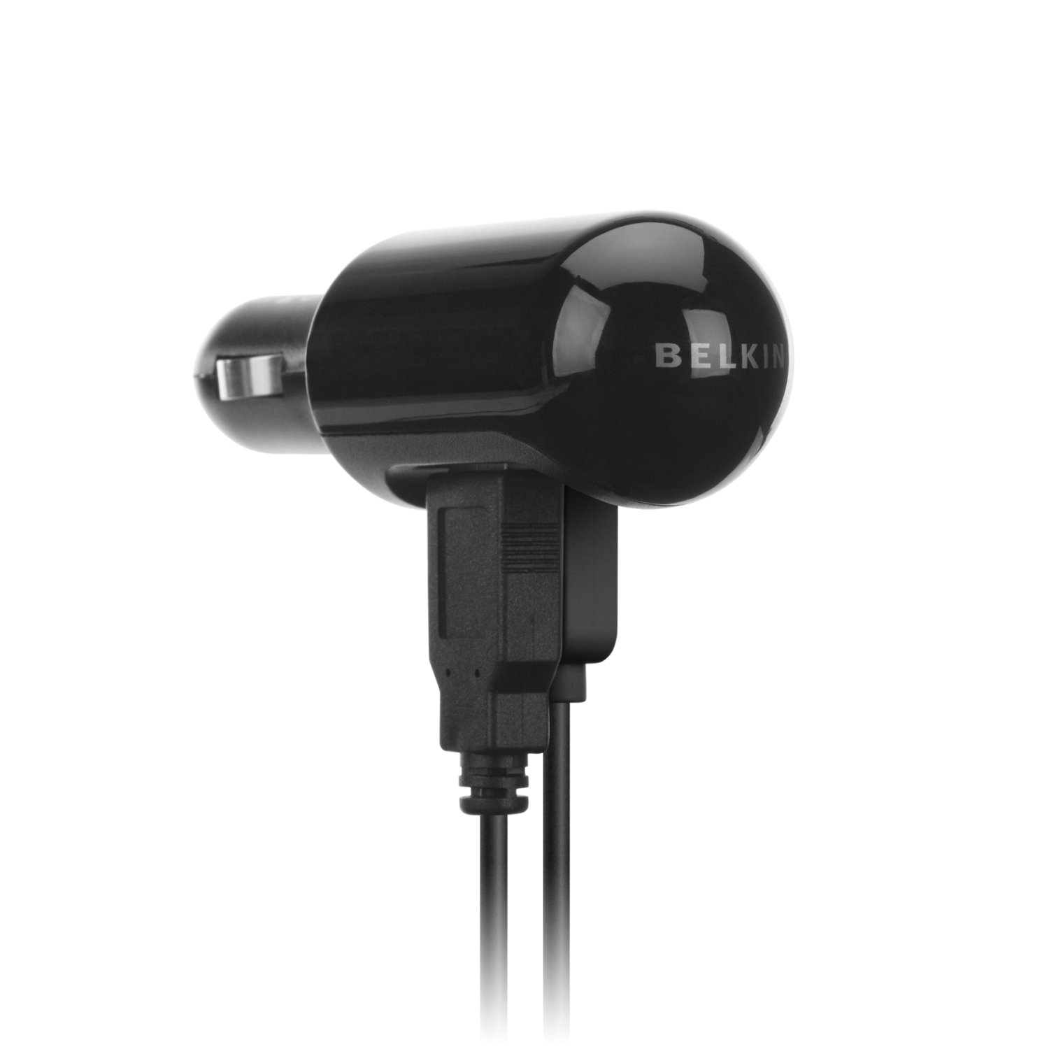 Belkin/belkin dual usb car charger iphone4/5 cigarette lighter car charger data cable charger plus F8Z280