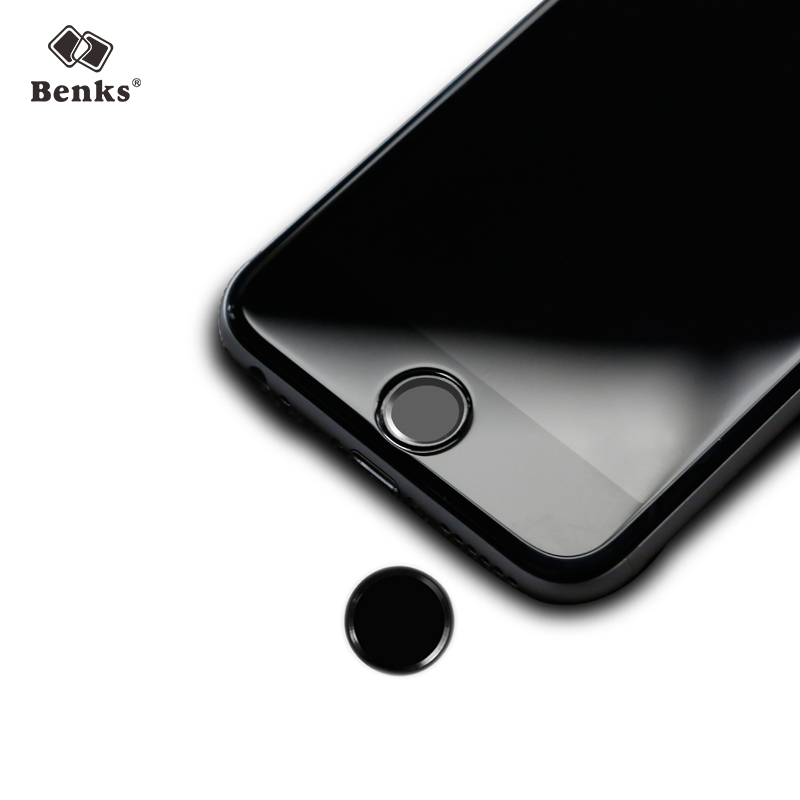 Benks apple 5s fingerprint button stickers iphone 6 plus s fingerprinting button stickers home button stickers affixed
