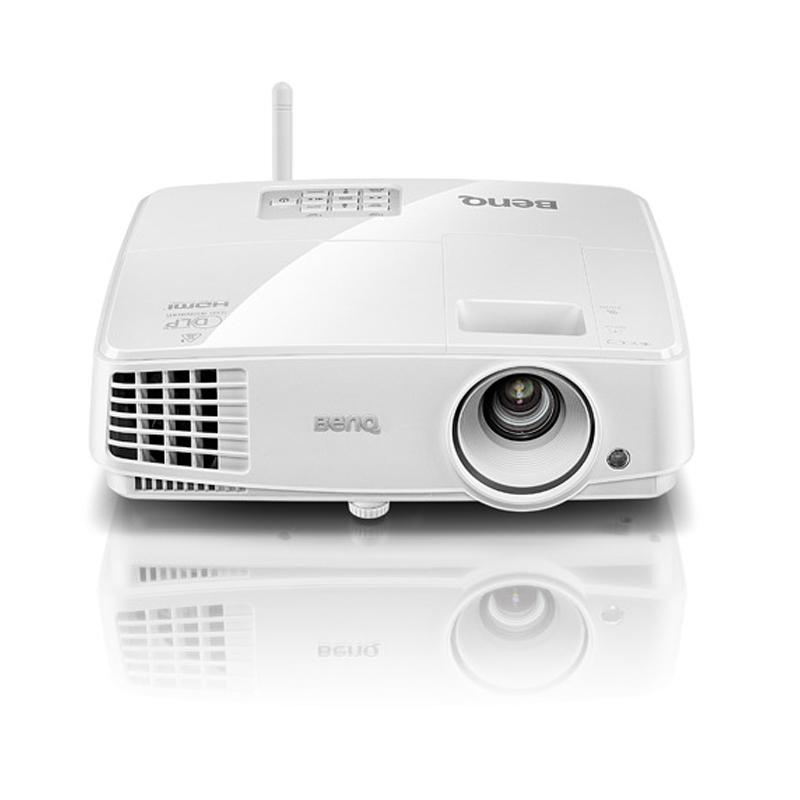 Benq/e500 benq projector business smart usb direct reading wireless transmission of conference training projector