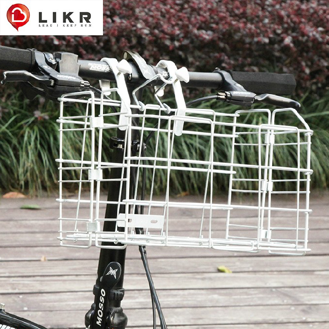 Bicycle basket before the basket basket folding bike basket car basket car basket folding bicycle accessories bicycle basket