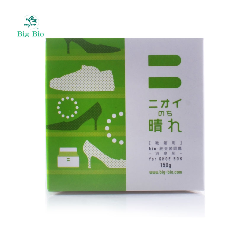 Big bio/large micro natural natto gel air freshener odor deodorant shoe box shoe mold agent imported from japan