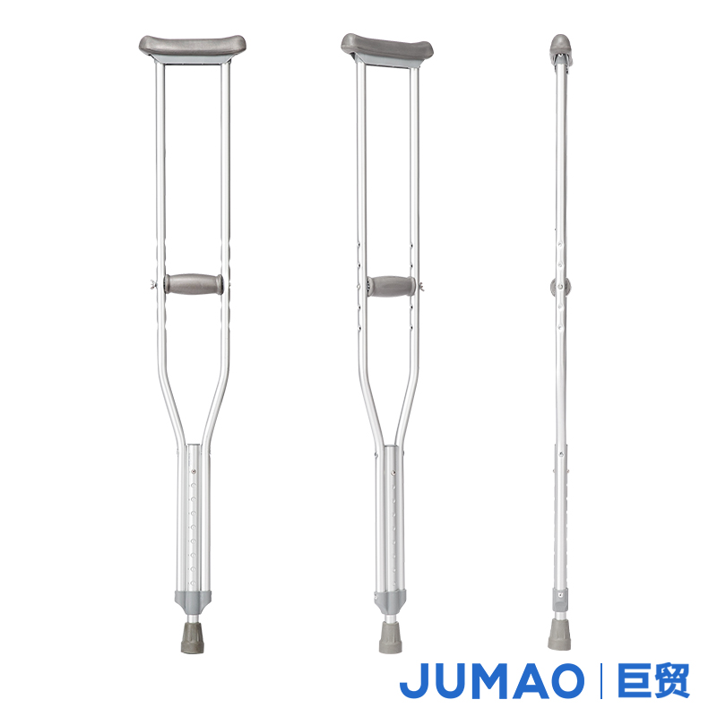 Big trade more stalls height adjustable lightweight aluminum underarm crutches shui crutches crutches walking stick cane elderly damping shipping