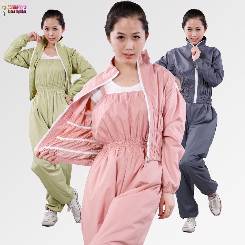 Big yards female siamese slimming pants slimming slimming clothes clothing sweat suit slimming clothes aerobics clothes suit female lower body Clothing