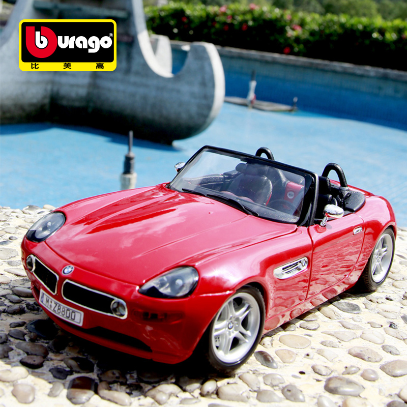 Bimei high 20121:18 bmw cars factory alloy high simulation bmw z8 roadster car model