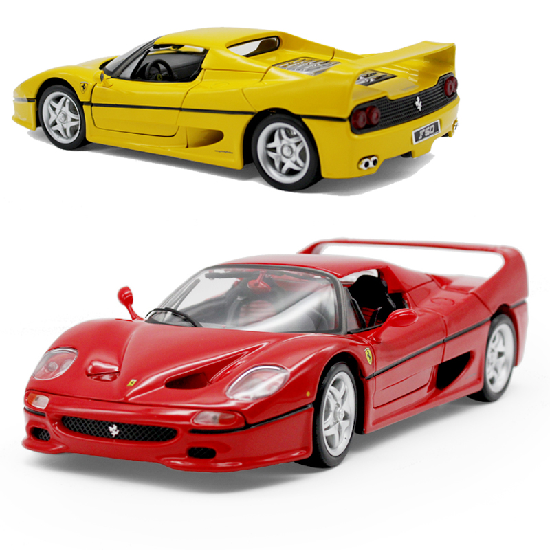 Bimei high/Bburago1: 18 ferrari ferrari f50 simulation alloy car model multicolor optional