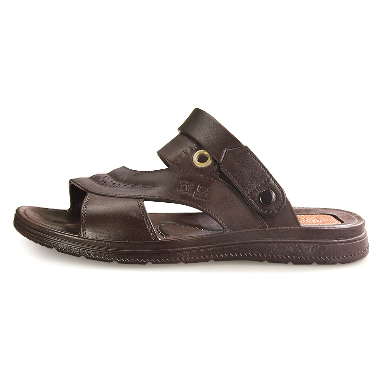 b7a7513a1f02 Binary sandals male summer sandals open toe sandals sport sandals and  slippers thick crust slip casual