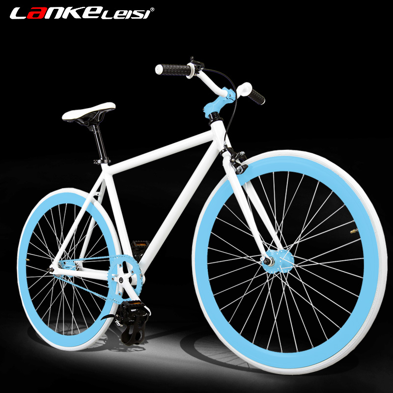 Blue kress dead coaster aluminum ultralight can ride down dead fly dead fly bicycle for men and women