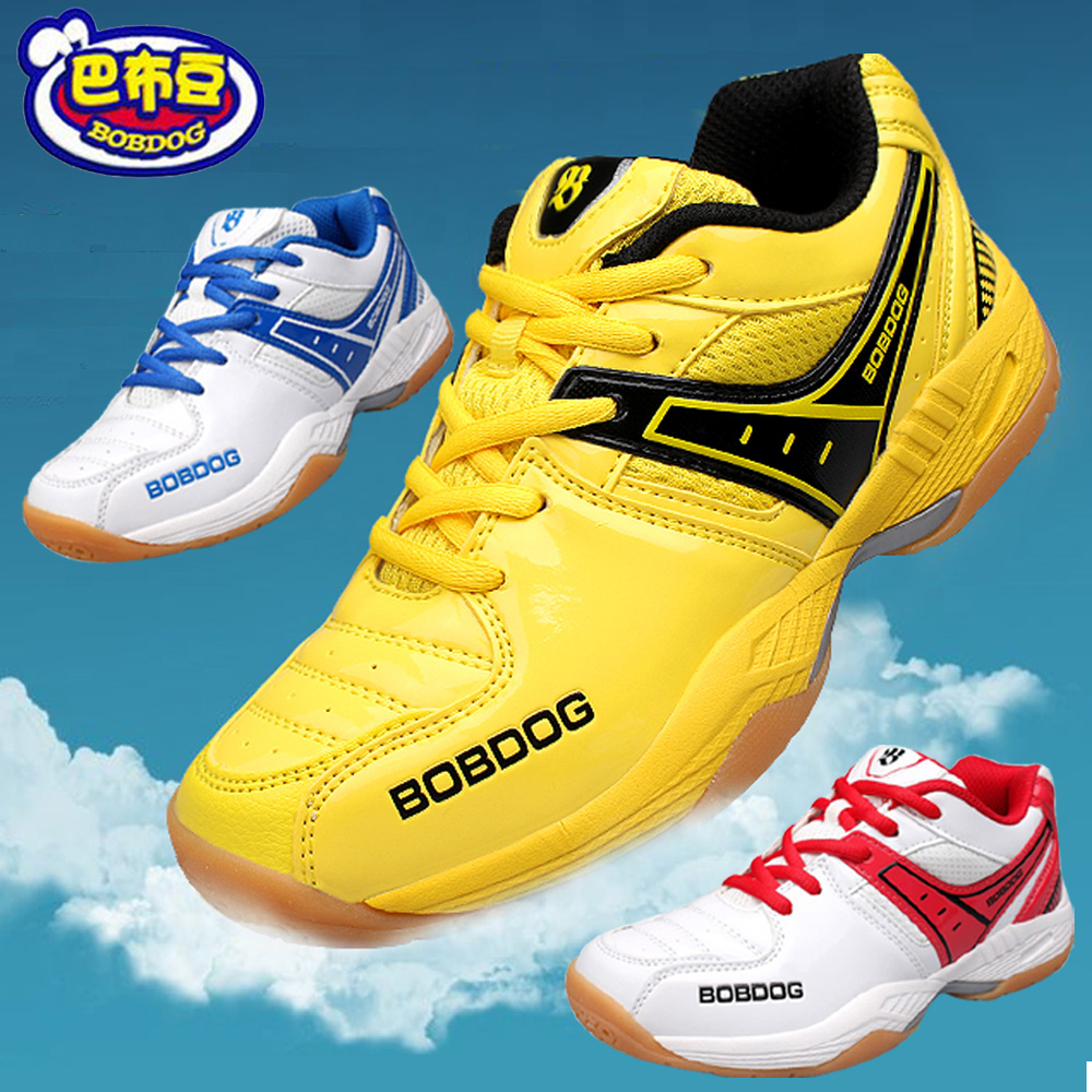 Bob dog children's shoes sports shoes casual shoes slip spring and autumn men's shoes badminton shoes lightweight cushioning