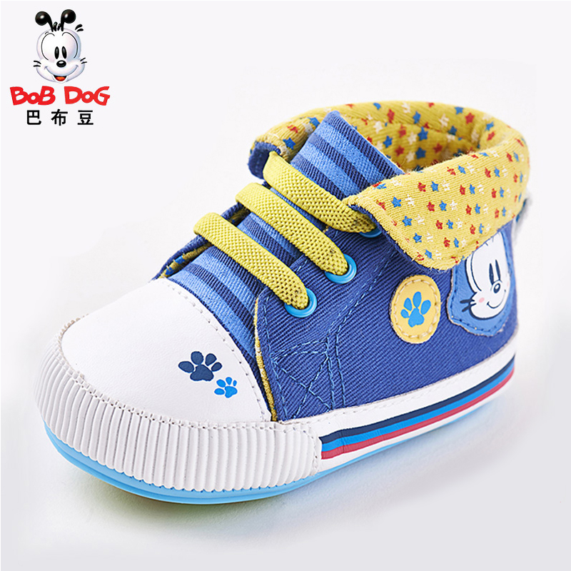 Bob dog shoes 0-1-year-old new baby shoes baby boys and girls canvas shoes soft bottom toddler shoes before step shoes