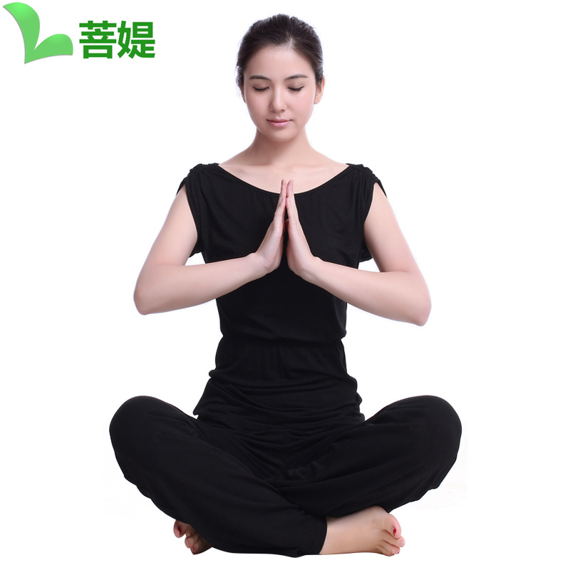 Bodhisattva ti yoga clothes yoga clothes suit 2016 spring and summer new female yoga clothes yoga clothes korean version received the body of the more gamma fitness suit