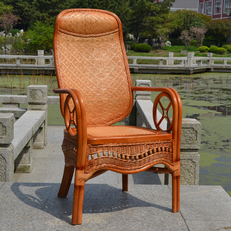 Boss chair rattan chair rattan wicker chair rattan lounge chair rattan chair rattan chairs coffee table three sets of combination