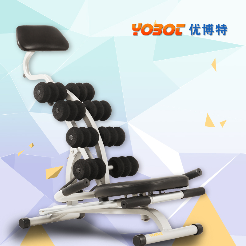 Bot excellent abdominal abdomen machine crunches lazy exercise machine slimming equipment home abdominal thin waist genuine