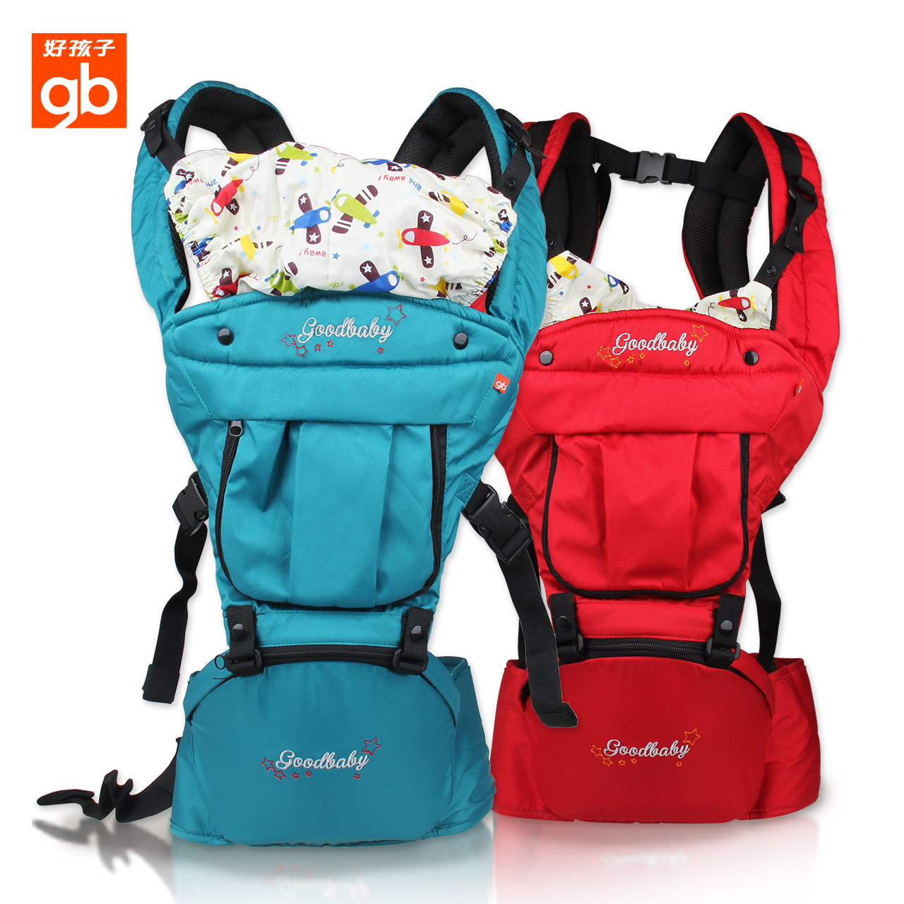 Boy baby sling versatile baby carrier baby sling baby stool waist hold style backpack with breathable four seasons ago