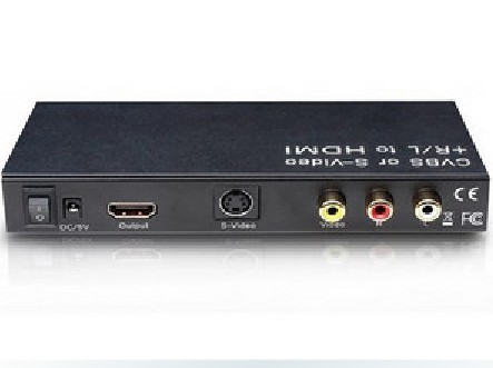 Branch only odd s-video to hdmi converter hdmi to s terminal cvbs/av to hdmi with Audio