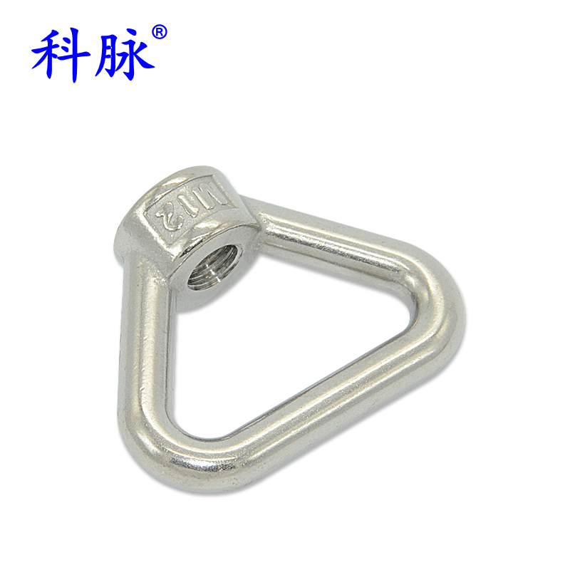 Branch vein 304 stainless steel triangle ring nut ring nut screw hand mushroom rings hanging mother nut