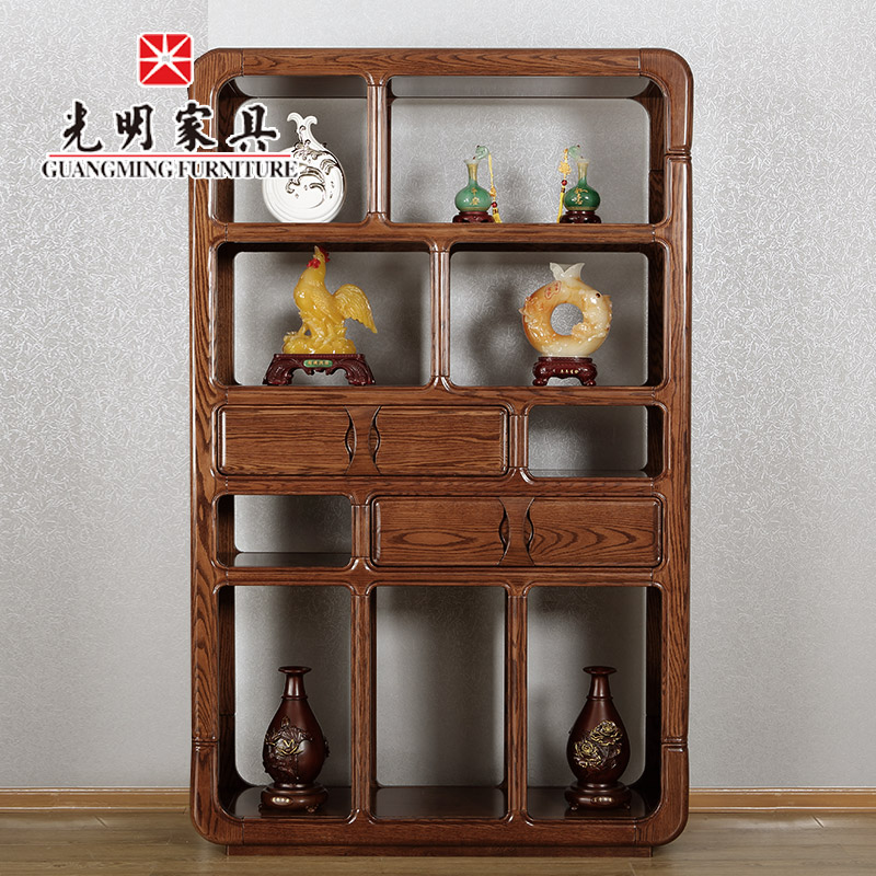 Bright furniture hall cabinet between the cabinet office cabinet cut off between the cabinet office entrance cabinet modern chinese solid wood imported oak