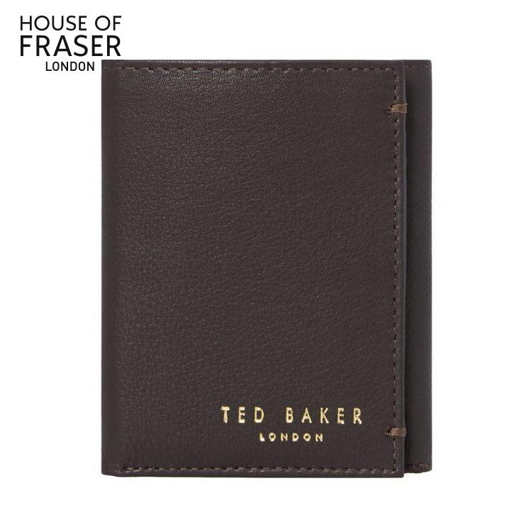 British ted baker brand leather wallet men's leather wallet card bit short paragraph multi gift gift europe and america the same paragraph