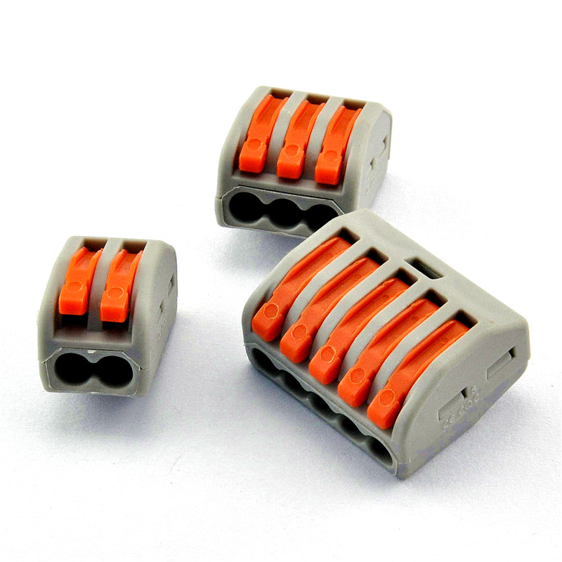 Building wire connector wire connector terminal blocks fast 2/3/5 position terminal terminal head spot