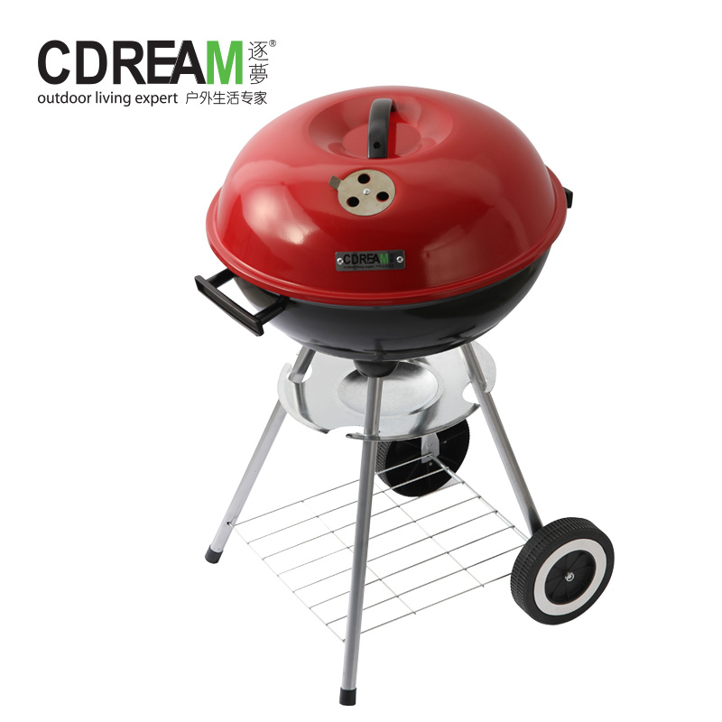 Get Quotations · By A Dream Purple Chan 17 Inch Apple Grill Portable  Camping Grill Charcoal Grill Bbq Grill