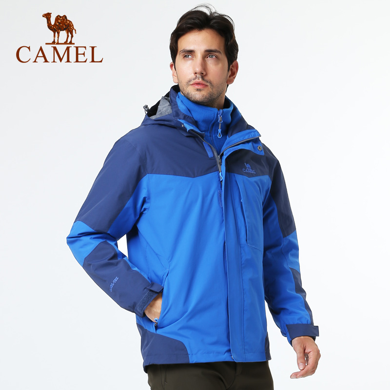 Camel camel outdoor jackets mens jackets piece waterproof windproof warm winter