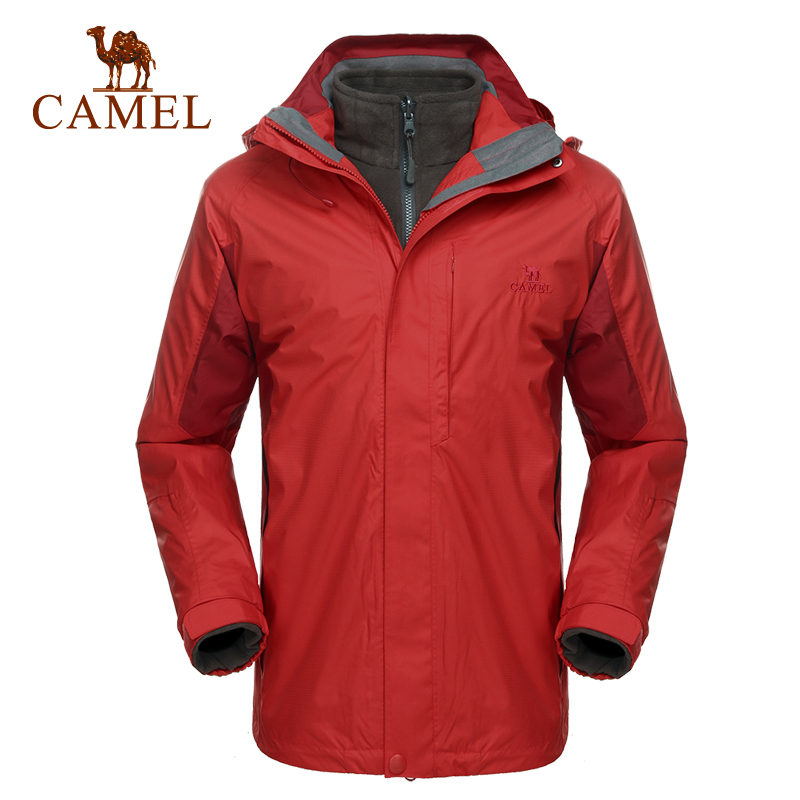 Camel camel outdoor jackets triple classic piece comfortable windproof male models jackets