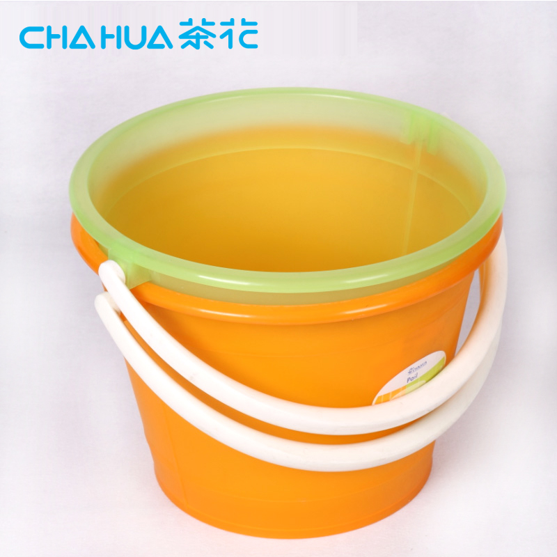 Camellia household mop mop bucket special fishing bucket car wash bucket bucket plastic bucket of drinking water barrels