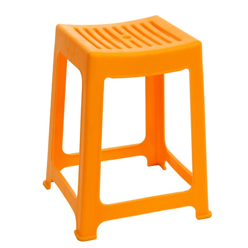 Camellia plastic stool stool fashion creative thicker type of adult household plastic stool stool stool fangdeng son a0838P