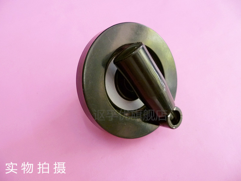 Can be folded small hand wheel machine handwheel bakelite hand wheel hand wheel hand wheel 10*80 with the top wire