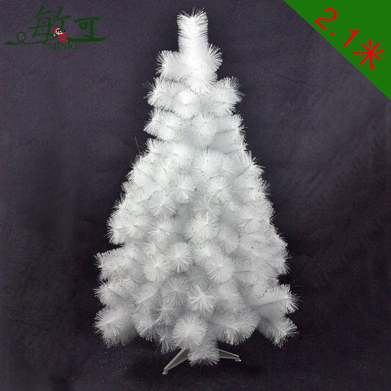 Can be sensitive white pine needle christmas tree package encryption 2.1 m luxury christmas tree christmas decorations