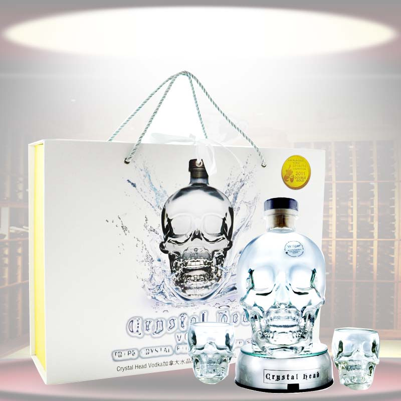 Canada crystal skull vodka vodka wine gift boxes gift box 750 ml liquor