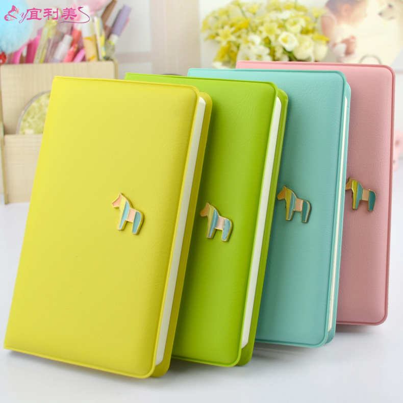 Candy color small fresh diary small trojaned singlet this checkered diary notebook sub stationery cute little book