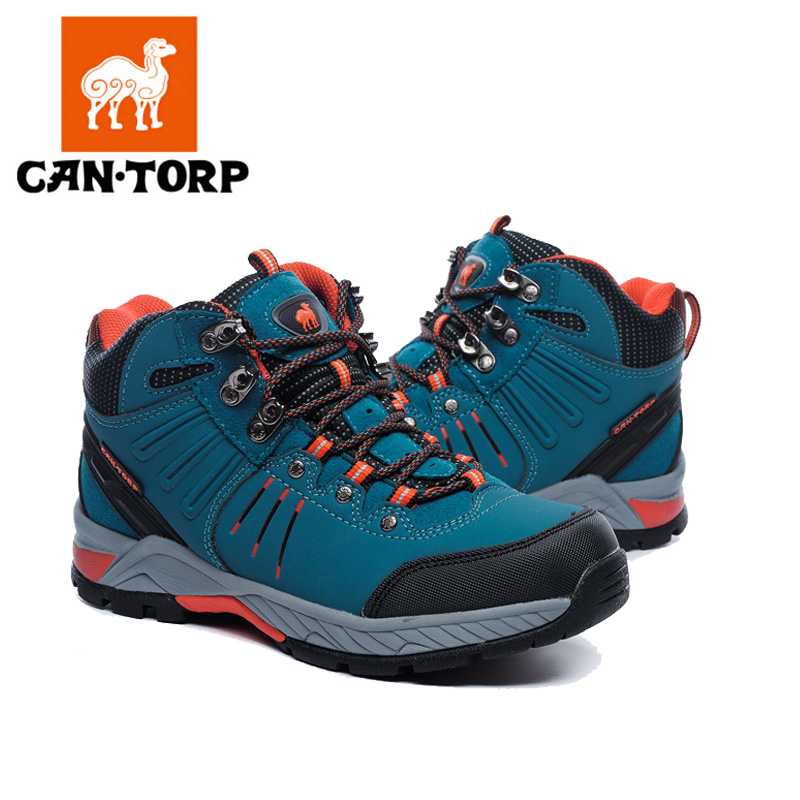 Cantorp camel hiking shoes autumn and winter shoes slip waterproof hiking shoes outdoor sports shoes high wear resistance