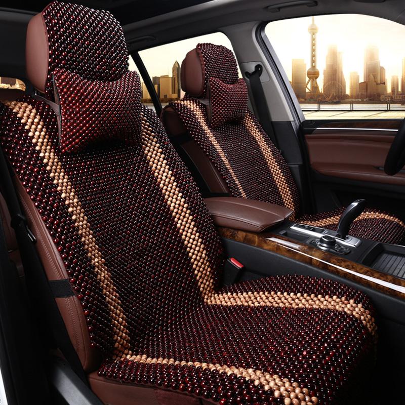 Buy Grade Mahogany Wood Bead Car Seat Subaru Forester Xv Legacy Outback Tribeca Impreza Brz Cushion Summer In Cheap Price On Alibaba